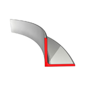Curved Angle - Toe out